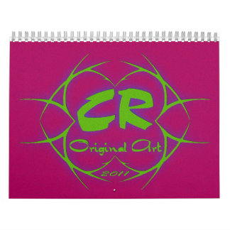 Stand Out Color Collection #1 Calendar
