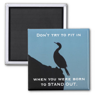 Stand Out Cormorant Magnets