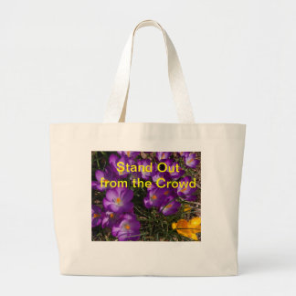 Stand Out from the Crowd Tote Bags