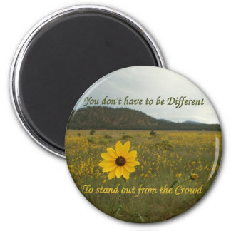 Stand Out from the Crowd 2 Inch Round Magnet