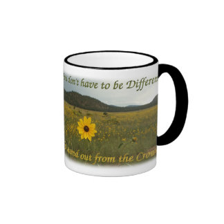 Stand Out from the Crowd Coffee Mug