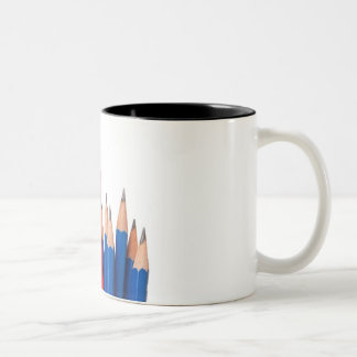 Stand out from the crowd Two-Tone coffee mug
