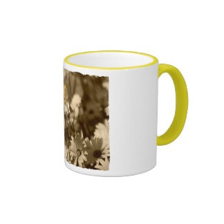 Stand out in a crowd ringer mug