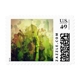 Stand out in the crowd. postage stamp