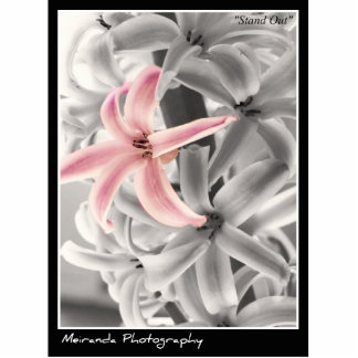 """""""Stand Out"""" Photo Print Standing Photo Sculpture"""