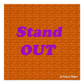 Stand Out Poster