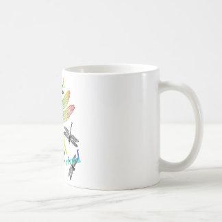 Stand out - Rainbow Dragonfly Coffee Mug