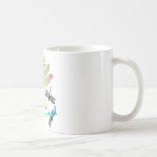 Stand out - Rainbow Dragonfly Coffee Mugs