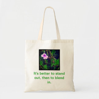 Stand out tote bag