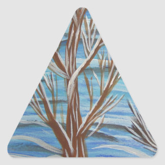 Stand proud triangle sticker