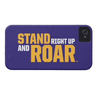 Stand Right Up And Roar Logo 2 iPhone 4 Cover