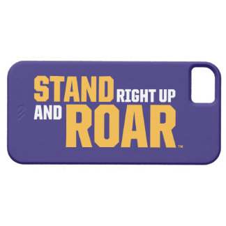 Stand Right Up And Roar Logo iPhone SE/5/5s Case
