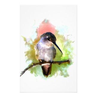 Stand Still Like the Hummingbird Stationery