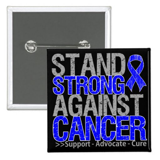 Stand Strong Against Anal Cancer Buttons