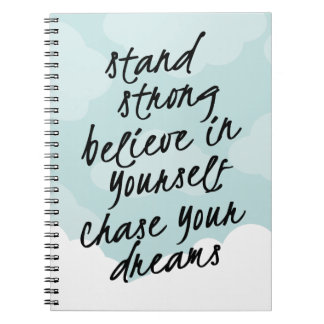 Motivational Notebooks \u0026 Journals  Zazzle