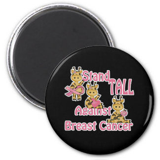 stand tall against breast cancer magnet