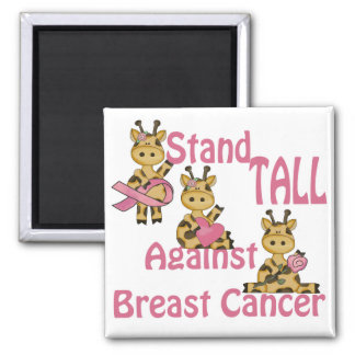 stand tall against breast cancer magnets
