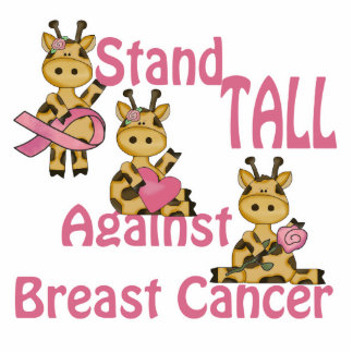 stand tall against breast cancer acrylic cut outs