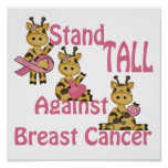 stand tall against breast cancer print