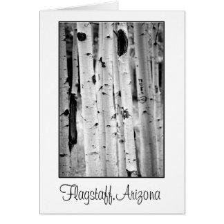 Stand tall Aspen's Flagstaff Card