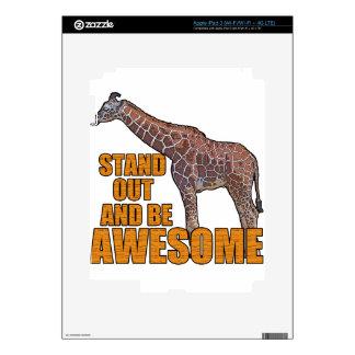 Stand Tall Giraffe 2 Skins For iPad 3