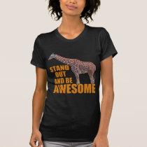 Stand Tall Giraffe 2 T-Shirt
