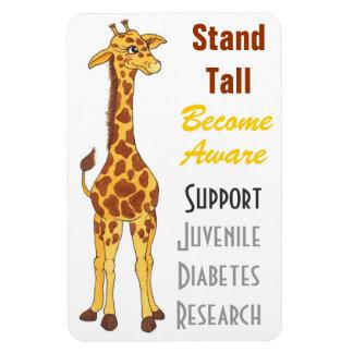Stand Tall Giraffe  - Juvenile Diabetes Magnet