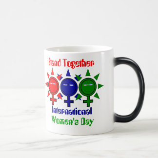Stand Together International Women's Day Magic Mug