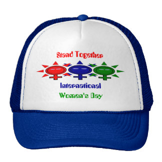 Stand Together International Women's Day Mesh Hats