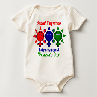Stand Together International Women's Day Baby Bodysuit