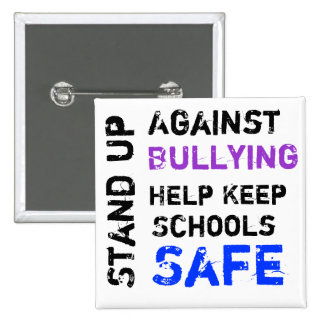 Stand Up Against Bullying Button