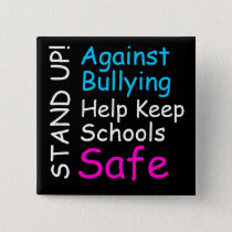 Stand Up Against Bullying Button (trans*)