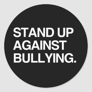 STAND UP AGAINST BULLYING STICKER