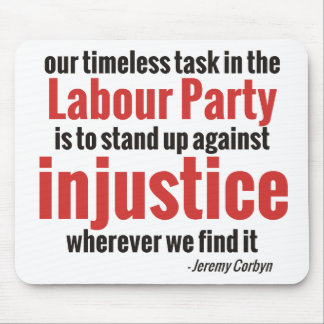 Stand up Against Injustice Mouse Pad