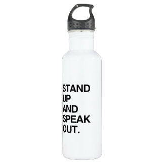 STAND UP AND SPEAK OUT 24OZ WATER BOTTLE