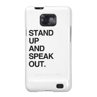 STAND UP AND SPEAK OUT GALAXY S2 COVERS