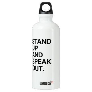 STAND UP AND SPEAK OUT SIGG TRAVELER 0.6L WATER BOTTLE
