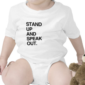 STAND UP AND SPEAK OUT TSHIRT
