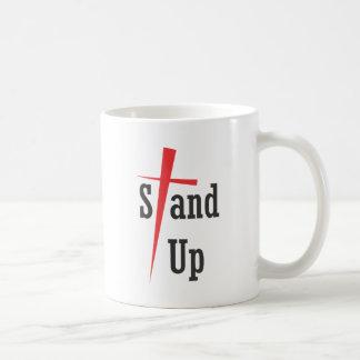 Stand Up - Black Text Mug