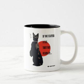 Stand Up Cat Mug