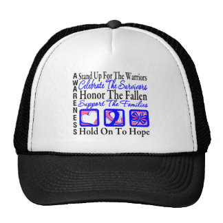 Stand Up Celebrate Honor - Male Breast Cancer Trucker Hat