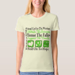 Stand Up Celebrate Honor Non-Hodgkins Lymphoma Tee Shirts