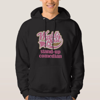 Stand Up Comedian Pink Gift Hoodie
