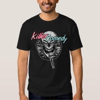 Stand-Up Comedian Skull: Killer Comedy T-Shirt