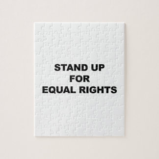 STAND UP FOR EQUAL RIGHTS JIGSAW PUZZLE