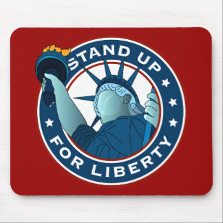 Stand Up For Liberty Mouse Pad