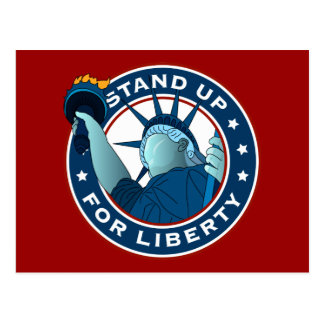 Stand Up For Liberty Postcard