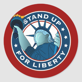 Stand Up For Liberty Sticker