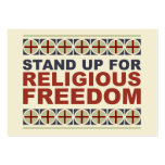 Stand Up For Religious Freedom Large Business Cards (Pack Of 100)
