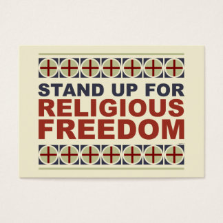 Stand Up For Religious Freedom Business Card